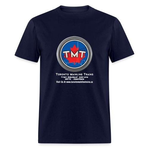 TMT White Letter Version2 - Men's T-Shirt