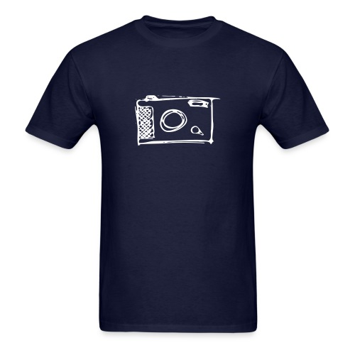 Camera hand-drawn - Men's T-Shirt
