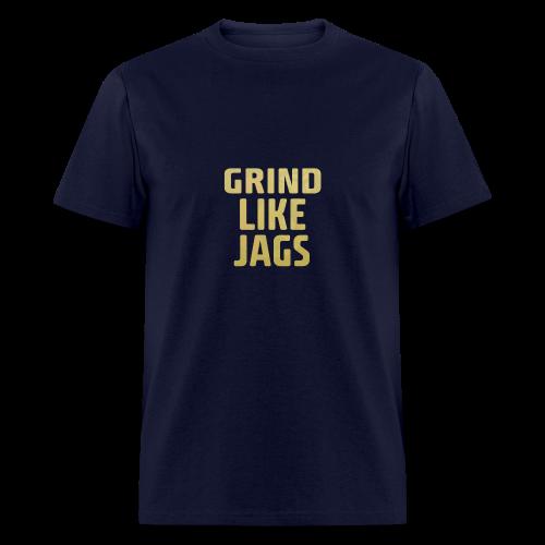 GrindLike Jags Logo - Men's T-Shirt