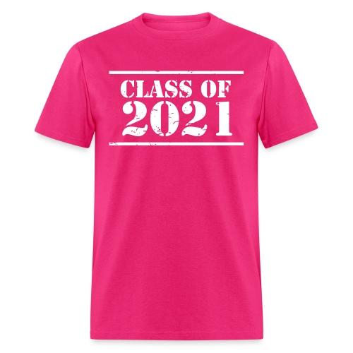 Class of 2021 stencil - Men's T-Shirt