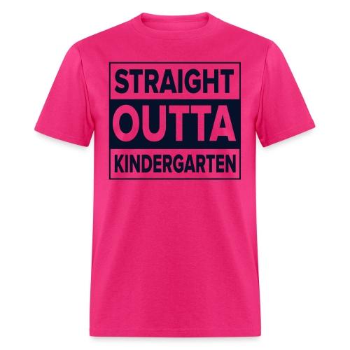 Straight Outta Kindergarten - Men's T-Shirt