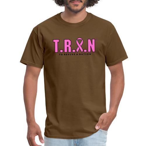 TRAN Ribbon Logo - Men's T-Shirt