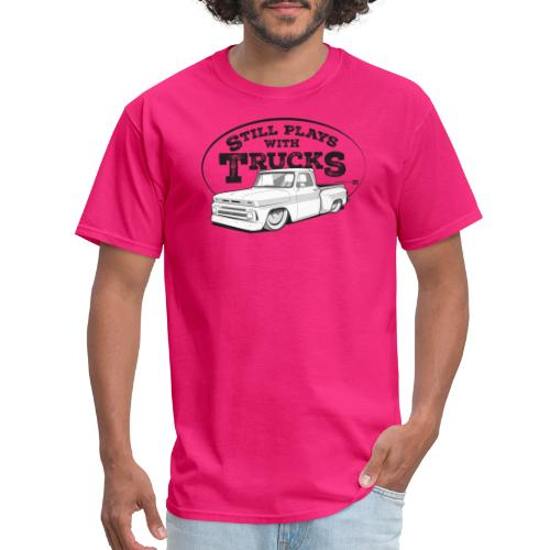 64 66BaggedC10Step BLK - Men's T-Shirt