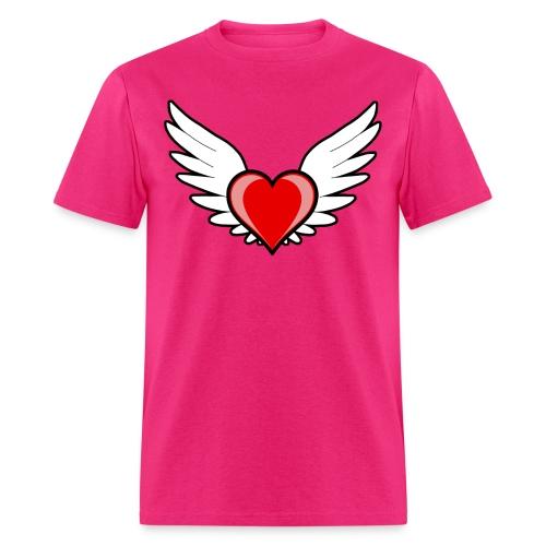 Positivity Heart - Men's T-Shirt