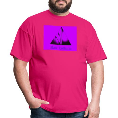 Purple Logo 2 - Men's T-Shirt