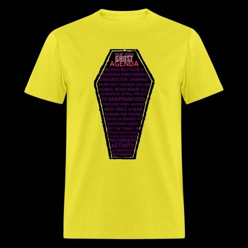 gayghostagenda - Men's T-Shirt