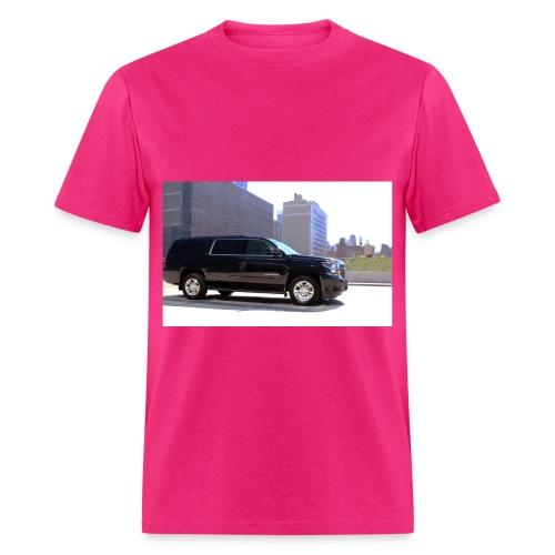 PINK TRANSPORATION - Men's T-Shirt