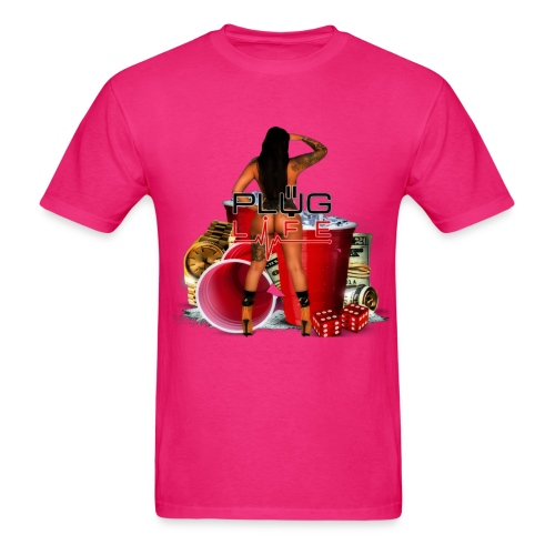 plug Life - Men's T-Shirt