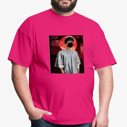 Alone with the red moon shirt - Men's T-Shirt