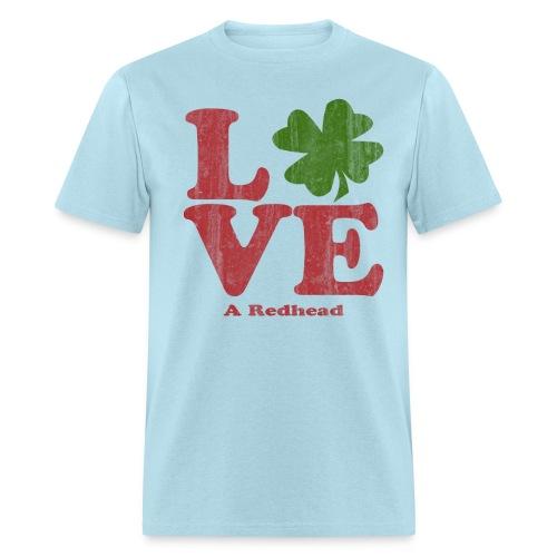 Love A Redhead - Men's T-Shirt