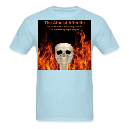 Atheist afterlife - Men's T-Shirt