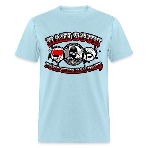 naz scum your time has come - Men's T-Shirt