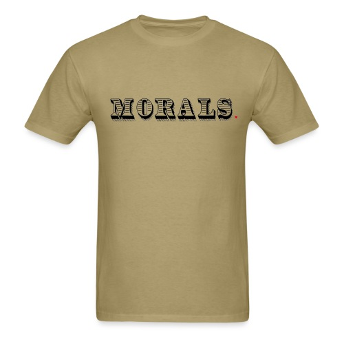 Morals Life Hack - Men's T-Shirt