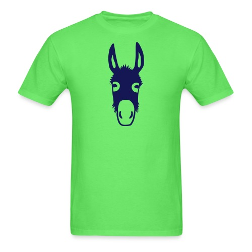 donkey mule horse muli pony - Men's T-Shirt