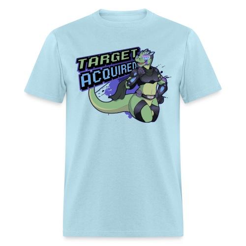 verge t shirt design small 2 png - Men's T-Shirt