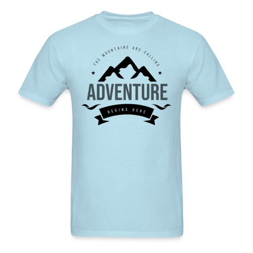 The mountains are calling T-shirt - Men's T-Shirt