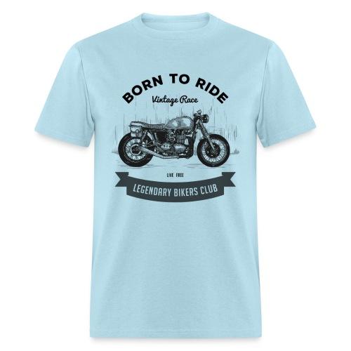 Born to ride Vintage Race T-shirt - Men's T-Shirt