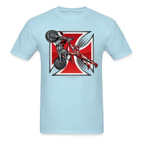 Red Baron Motocross - Men's T-Shirt