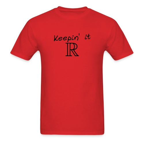 keeping it real - Men's T-Shirt