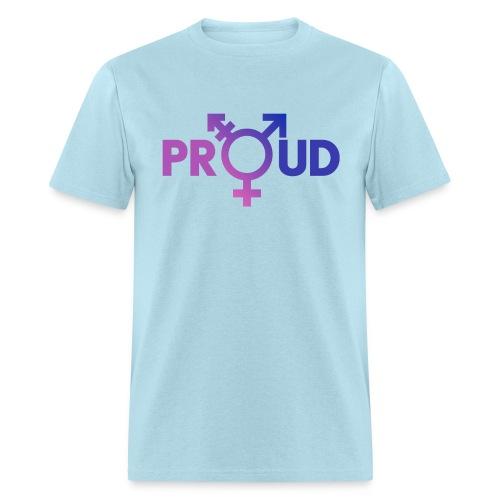 LGBT Proud (Purple) - Men's T-Shirt