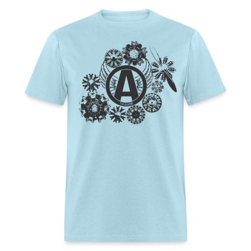 enginesavatardesignblack - Men's T-Shirt