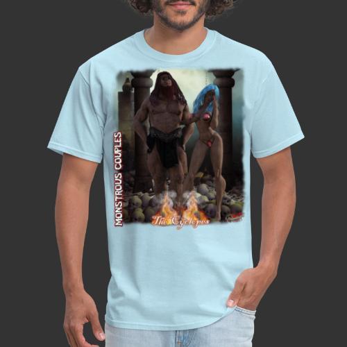 Monstrous Couples: Cyclop - Men's T-Shirt