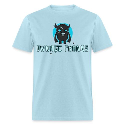 ownagepranks logo lb - Men's T-Shirt