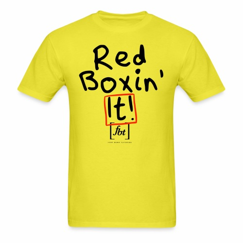 Red Boxin' It! [fbt] - Men's T-Shirt