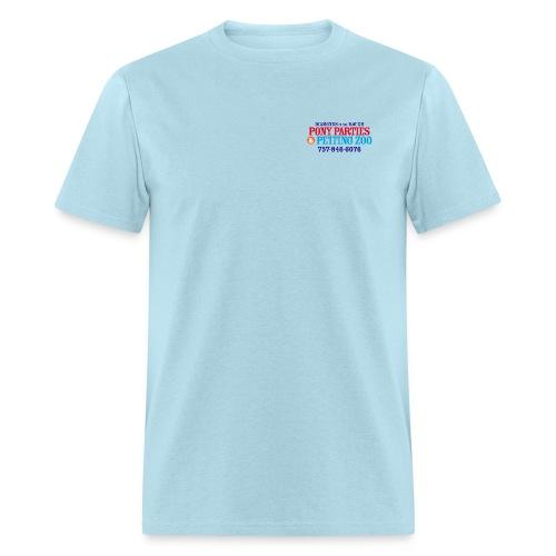 DITR Pony Parties Logo tx - Men's T-Shirt