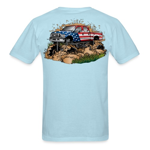 Mega Mud Truck USA - Men's T-Shirt