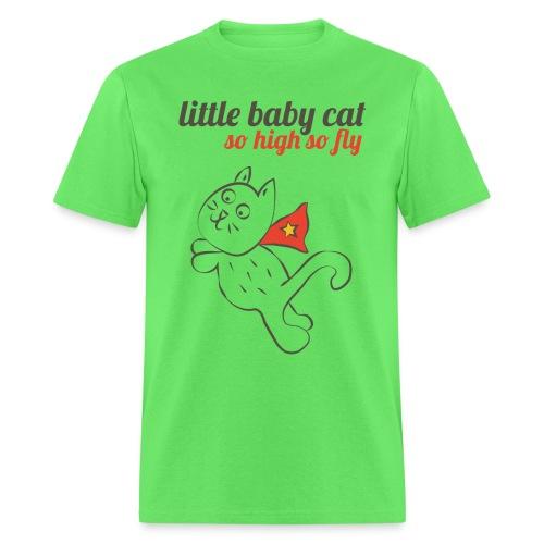 KittenFlyFinal png - Men's T-Shirt