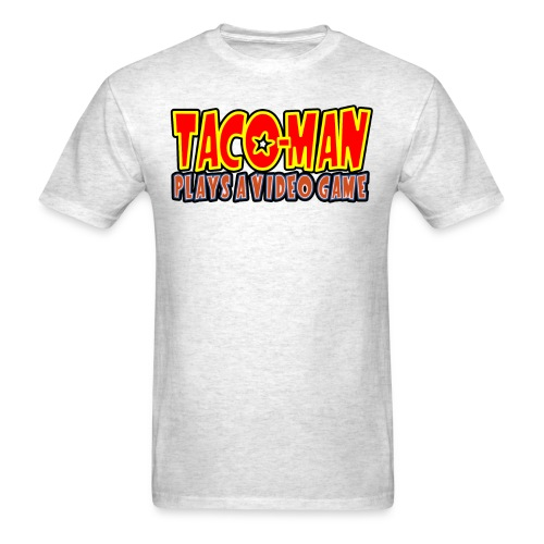 TACO MAN PLAYS LOGO - Men's T-Shirt