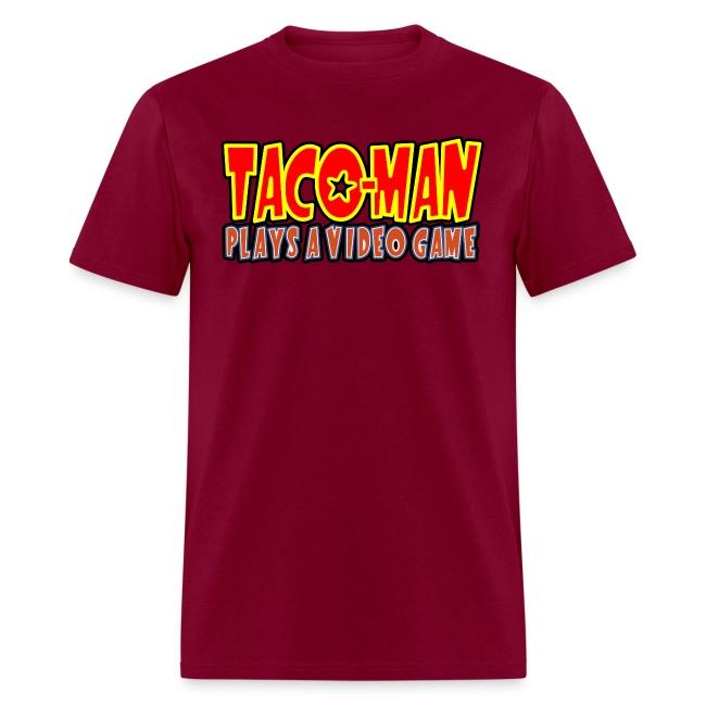 TACO MAN PLAYS LOGO