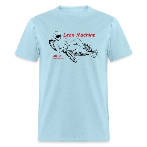 The Lean Machine AR-3 Black & Red - Men's T-Shirt