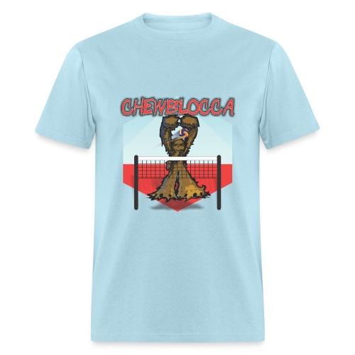 Chewblocca Volleyball Team Logo - Men's T-Shirt