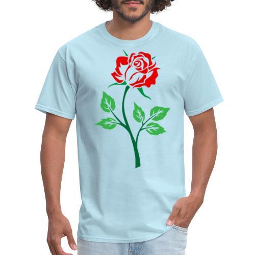 Red Rose - Men's T-Shirt