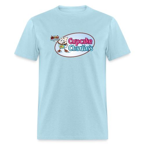 Cupcake Charlie s Logo - Men's T-Shirt