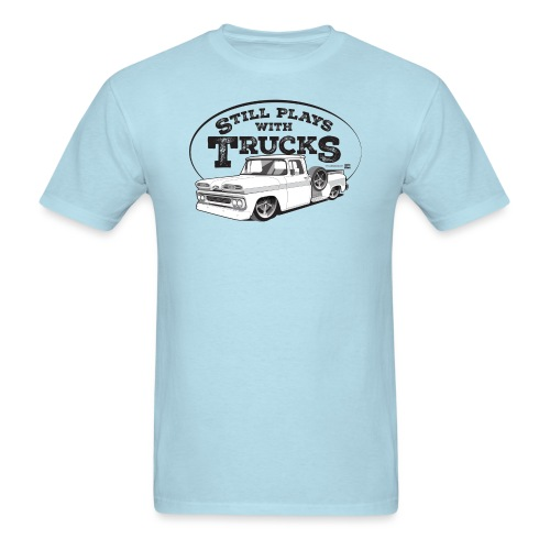 61C10BaggedLongStep BLK - Men's T-Shirt