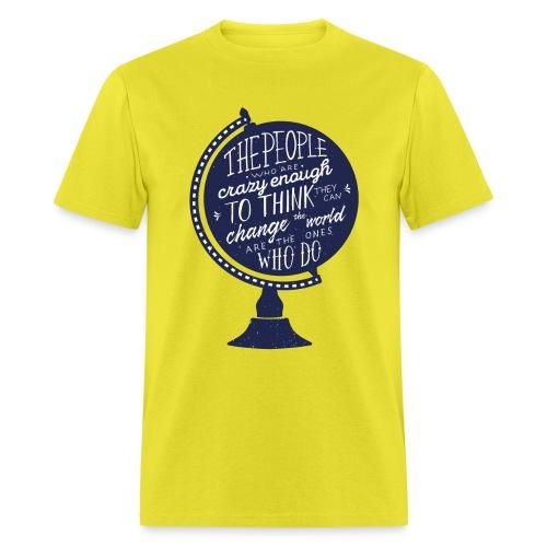 change the world - Men's T-Shirt