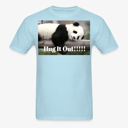 Hug It out Panda Merch - Men's T-Shirt