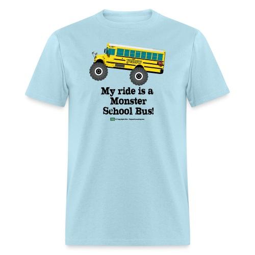 Monster Schoolbus Spreadshirt 3 png - Men's T-Shirt