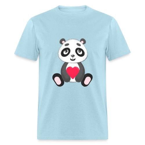 Sweetheart Panda - Men's T-Shirt