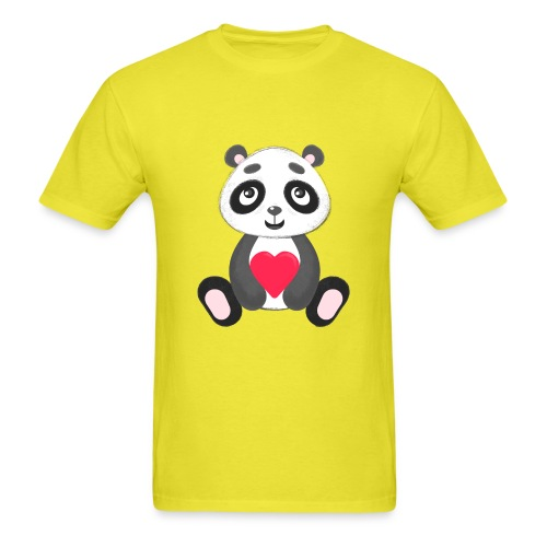 Sweetheart Panda - Men's T-Shirt