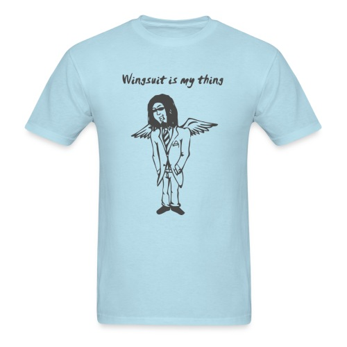 wingsuit tshirt vector design 2 - Men's T-Shirt