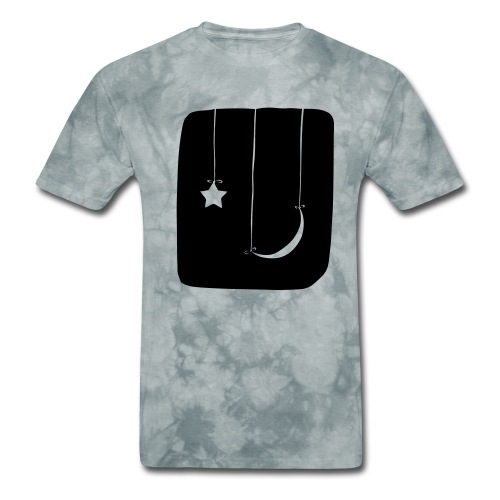 Moon and Star - Men's T-Shirt