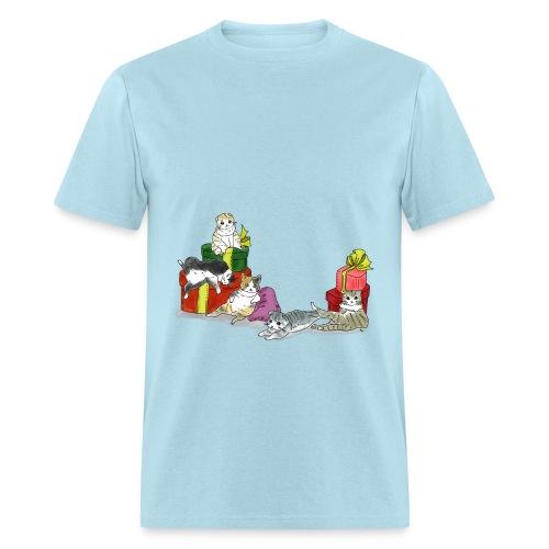 cutie cutie cats - Men's T-Shirt