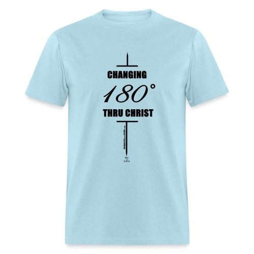 Changement à 180 degrés grâce au CHRIST - T-shirt pour hommes