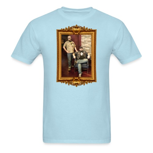 Rookie and Bo Oil Canvas - Men's T-Shirt