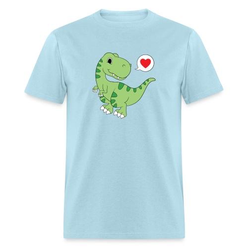 Dinosaur Love - Men's T-Shirt