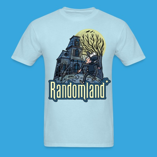 Randomland Haunted House - Men's T-Shirt
